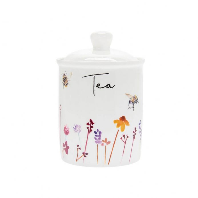 Busy Bees Fine China Tea Canister
